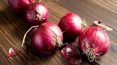 Organic Red Onions (1kg) بصل أحمر اورجانيك