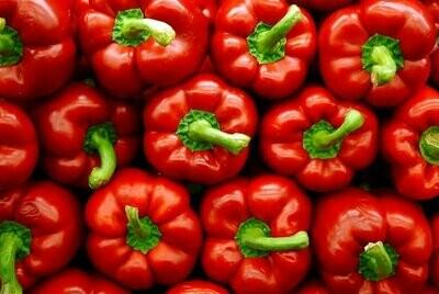 Organic Red Peppers (500g) فلفل أحمر اورجانيك