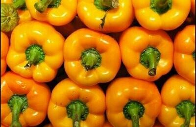 Organic Yellow Peppers (500g) فلفل أصفر اورجانيك