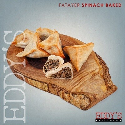 Baked Spinach Fatayer (650g) فطائر السبانخ الجاهزة