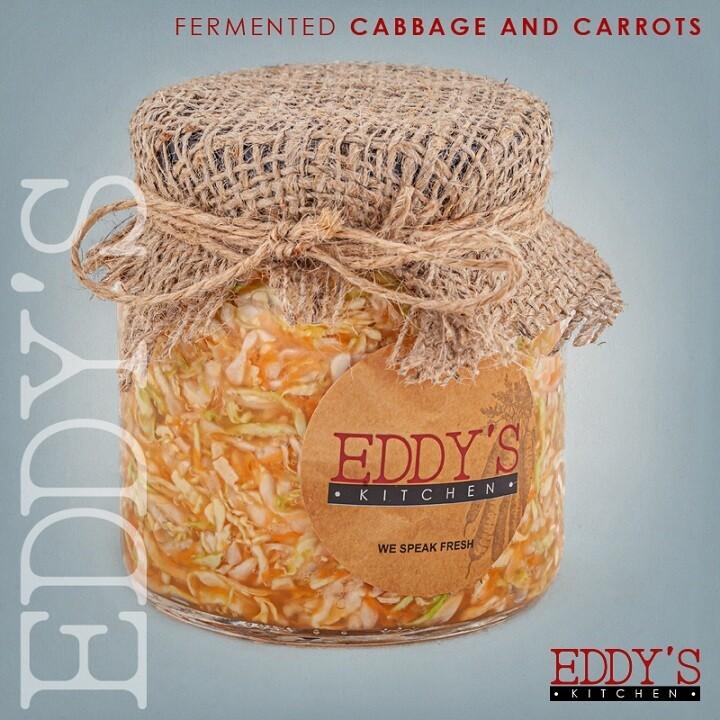 Cabbage & Carrot Sauerkraut (500g) مخلل الكرنب والجزر