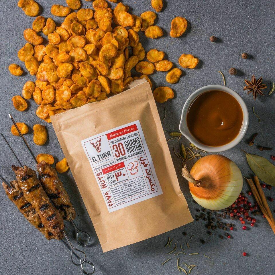 Fava Nuts Barbecue Flavor (125g) مكسرات فول بنكهة الباربكيو