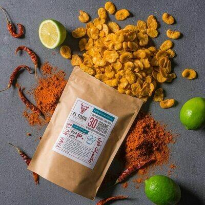 Fava Nuts Chili & Lemon Flavor (125g) مكسرات فول بنكهة الشطة والليمون