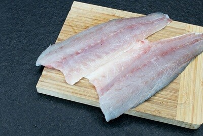 Sea Bass Fillet Skin Off (500g) فيليه قاروص بدون جلد