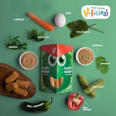 Veggie nuggets ناجتس خضار