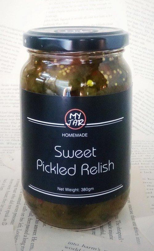 Sweet Pickle Relish مخلل خيار حلو