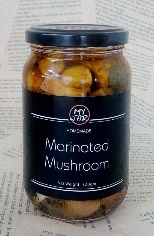 Marinated Mushroom مخلل الفطر
