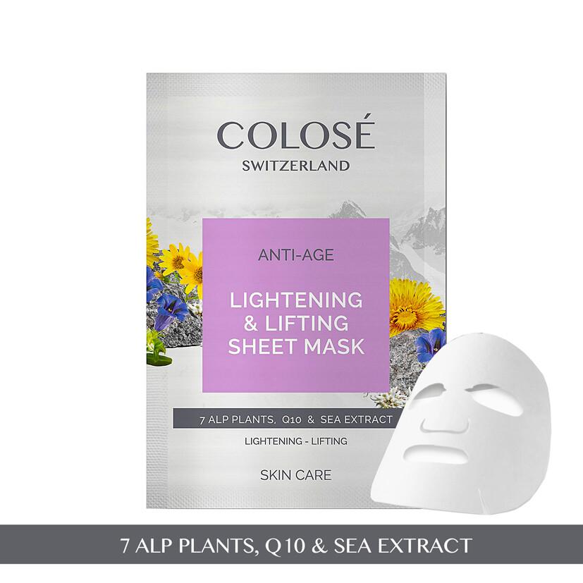 Kangasnaamio - Lightening&Lifting sheet mask