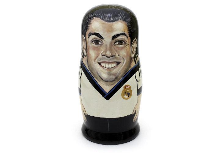 Матрёшка авторская коллекционная «Сristiano Ronaldo» 1 кукла