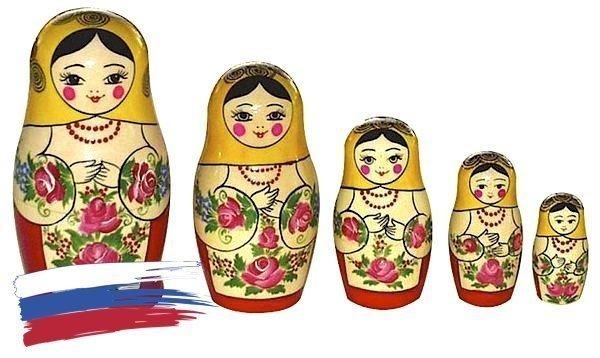 Матрёшка Семёновская «Машенька» 5 кукол