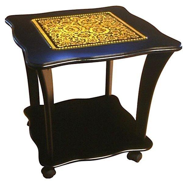 Стол квадратный со стеклом «Танго»