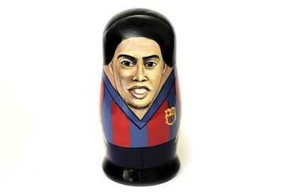Матрёшка авторская коллекционная «Ronaldinho» 1 кукла