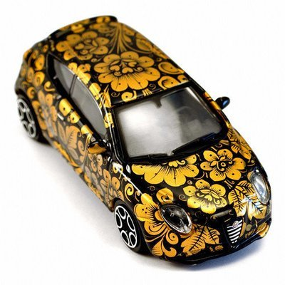 Машинка Хохлома, Вернисаж A014-13, модель ALFA MITO