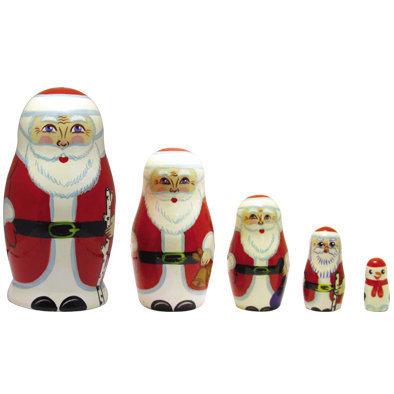 Игрушка «Дед Мороз» (5 кукол)