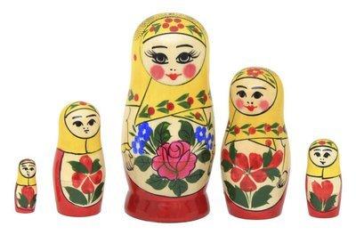 Матрёшка Семеновская «Настя» 5 кукол
