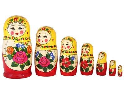 Матрёшка Семеновская «Настя» (7 кукол)