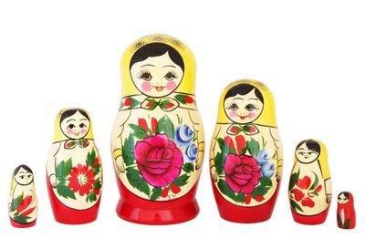 Матрёшка Семеновская «Россияночка» 6 кукол