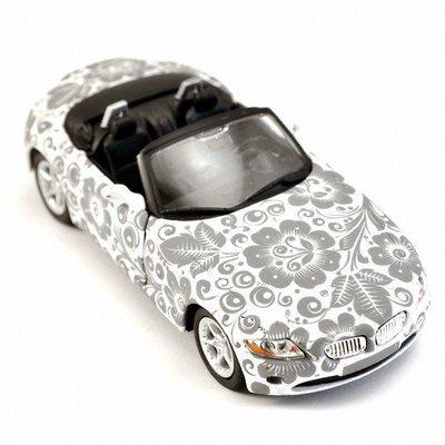Машинка Хохлома, Вернисаж A003-17, модель BMW Z4
