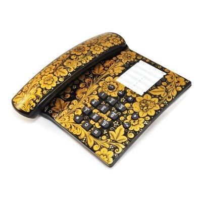 Телефон Хохлома, Вернисаж T015-13, проводной, Siemens