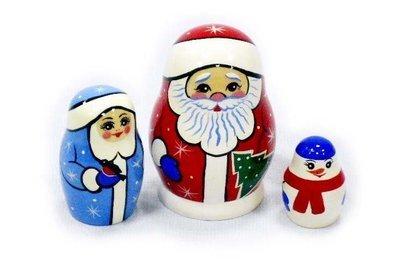 Дед Мороз 3-х местный