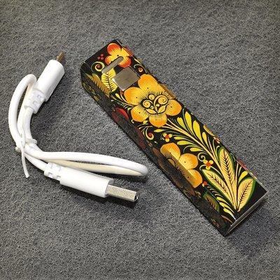 Универсальный внешний аккумулятор Хохлома,  Вернисаж R001-07, 2600 мА*ч, 1А, USB, Canyon