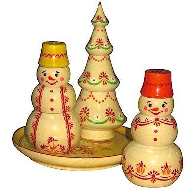 Набор для специй «Новогодний» №2 (4 предмета)