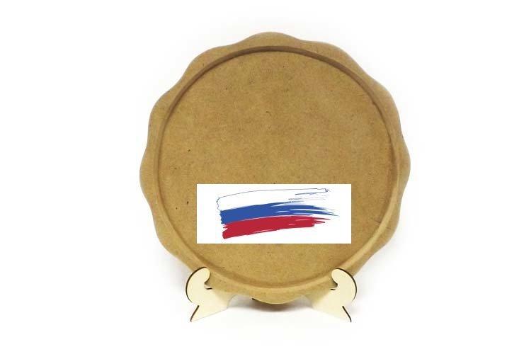 Заготовка Поднос круглый 30 см