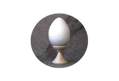 Заготовка яйцо деревянное 6см