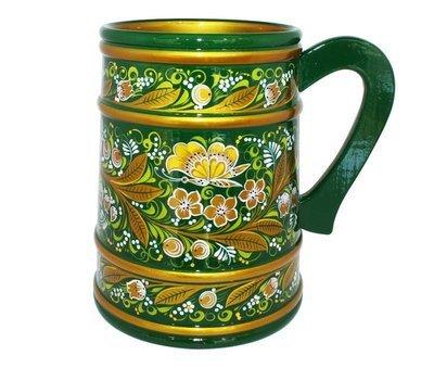 Кружка с хохломской росписью 180х140