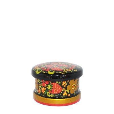Коробка «Самоцвет» 50х70 с хохломской росписью