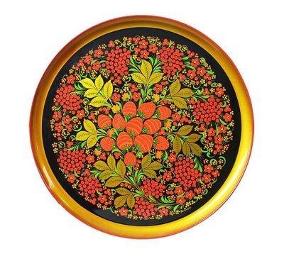 Тарелка-панно 400x20 с хохломской росписью