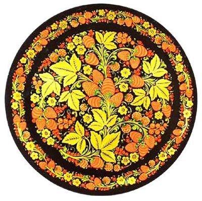 Тарелка-панно 500x20 с хохломской росписью
