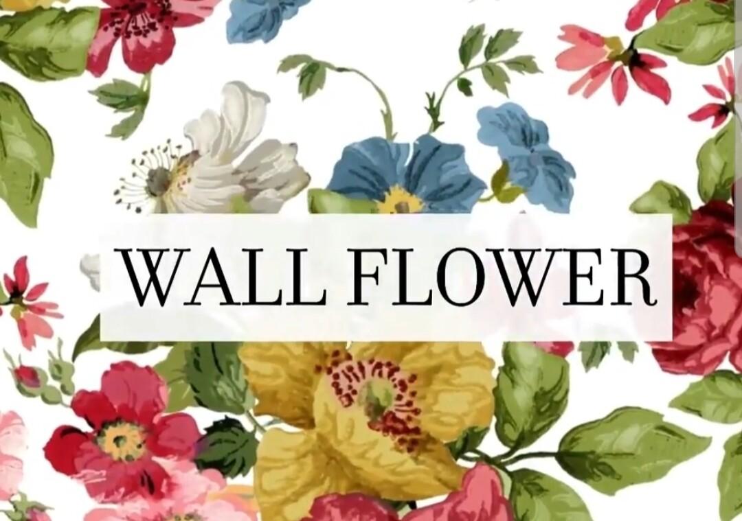 Wallflower 24×33 Decor Transfer
