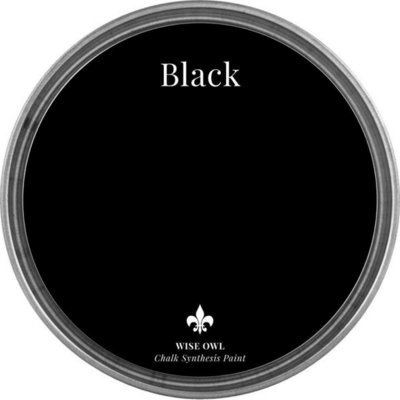 Black Wise Owl Chalk Synthesis Paint – pint (16 oz)