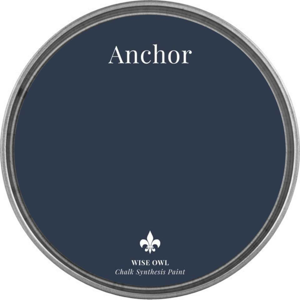 Anchor Wise Owl Chalk Synthesis Paint - pint (16 oz)