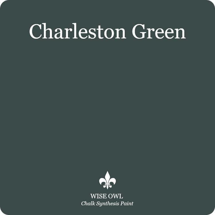 Charleston Green Wise Owl Chalk Synthesis Paint – Pint (16 oz)