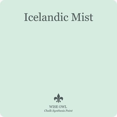 Icelandic Mist Wise Owl Chalk Synthesis Paint – Pint (16 oz)