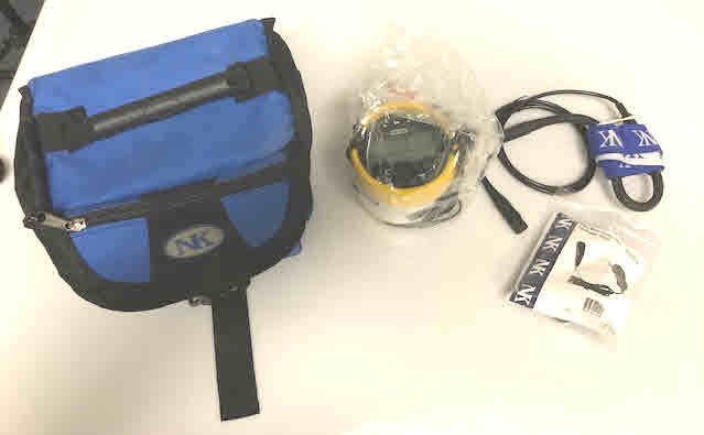 Cox Box, Mic, Charger & Bag