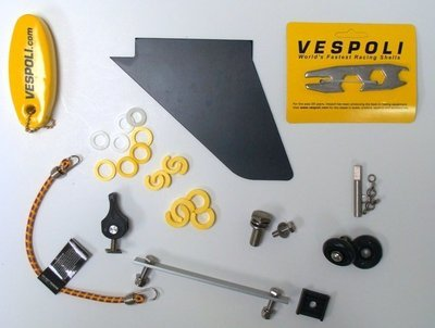 Spare Parts Kit For 4+ With Wing Style Riggers.