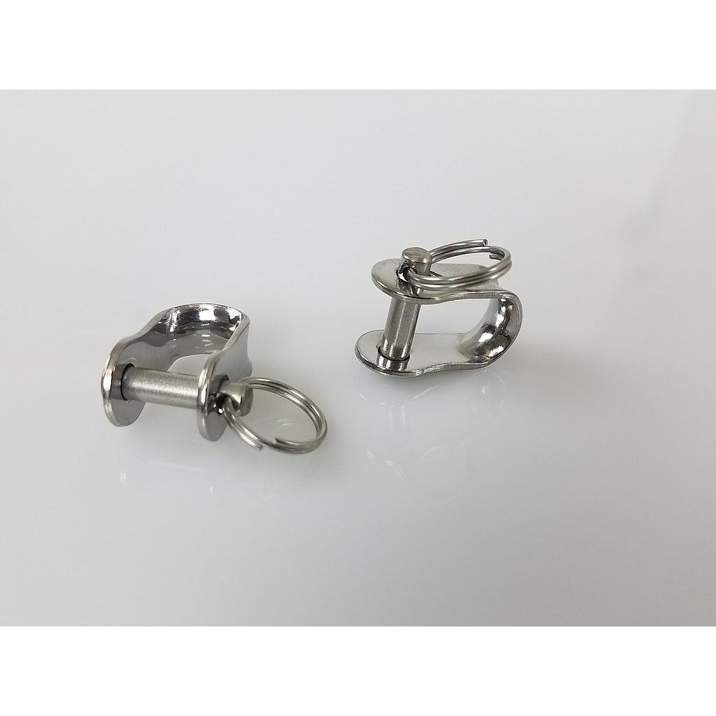 Shackles (2) For Steering Yokes