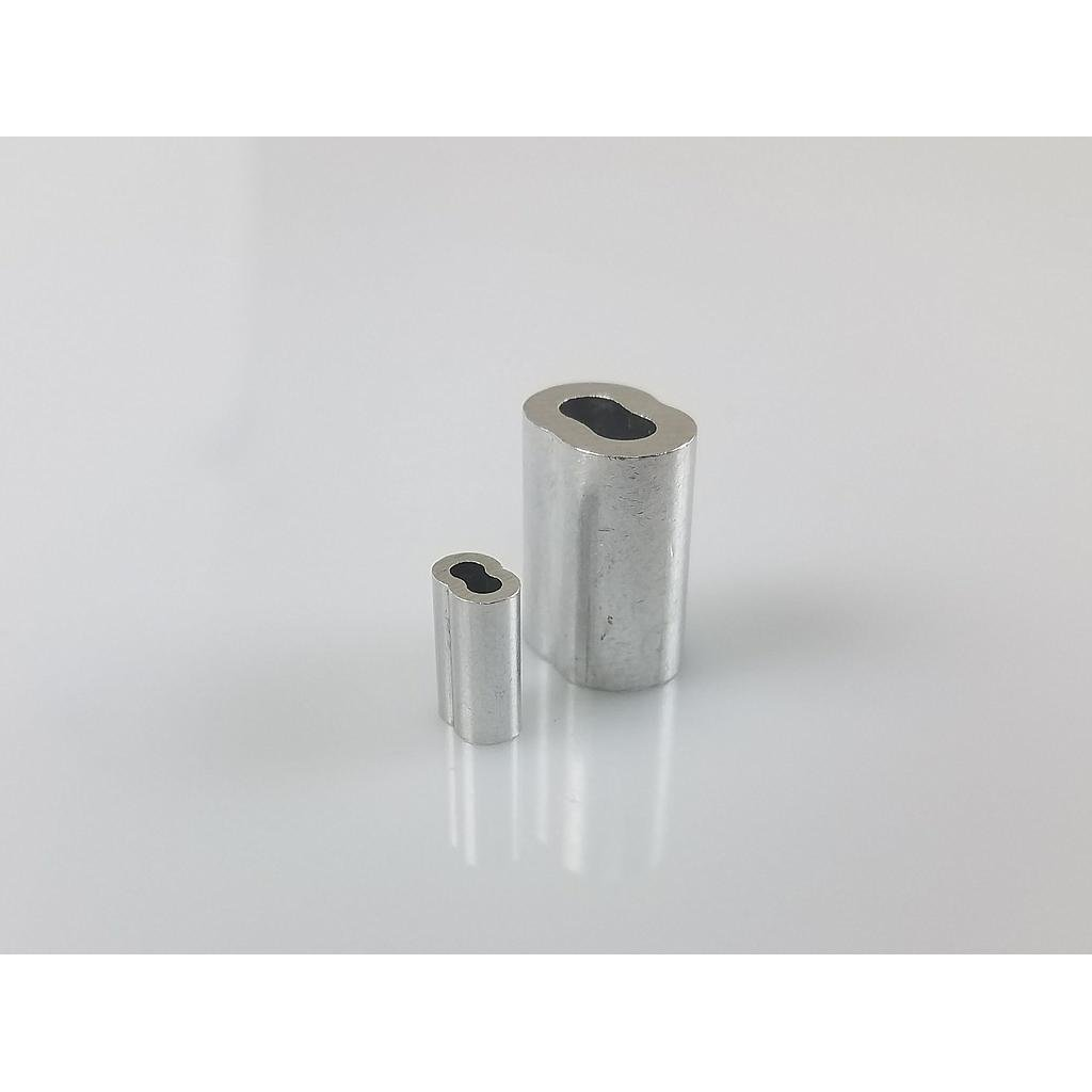 Nicro Press Sleeve, Small, For Stainless Steel Steering Cable