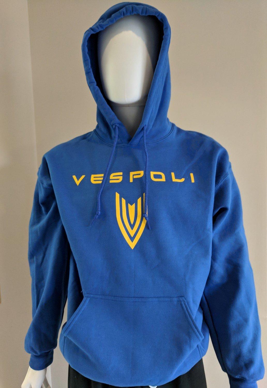 Hoodie, VESPOLI, Blue