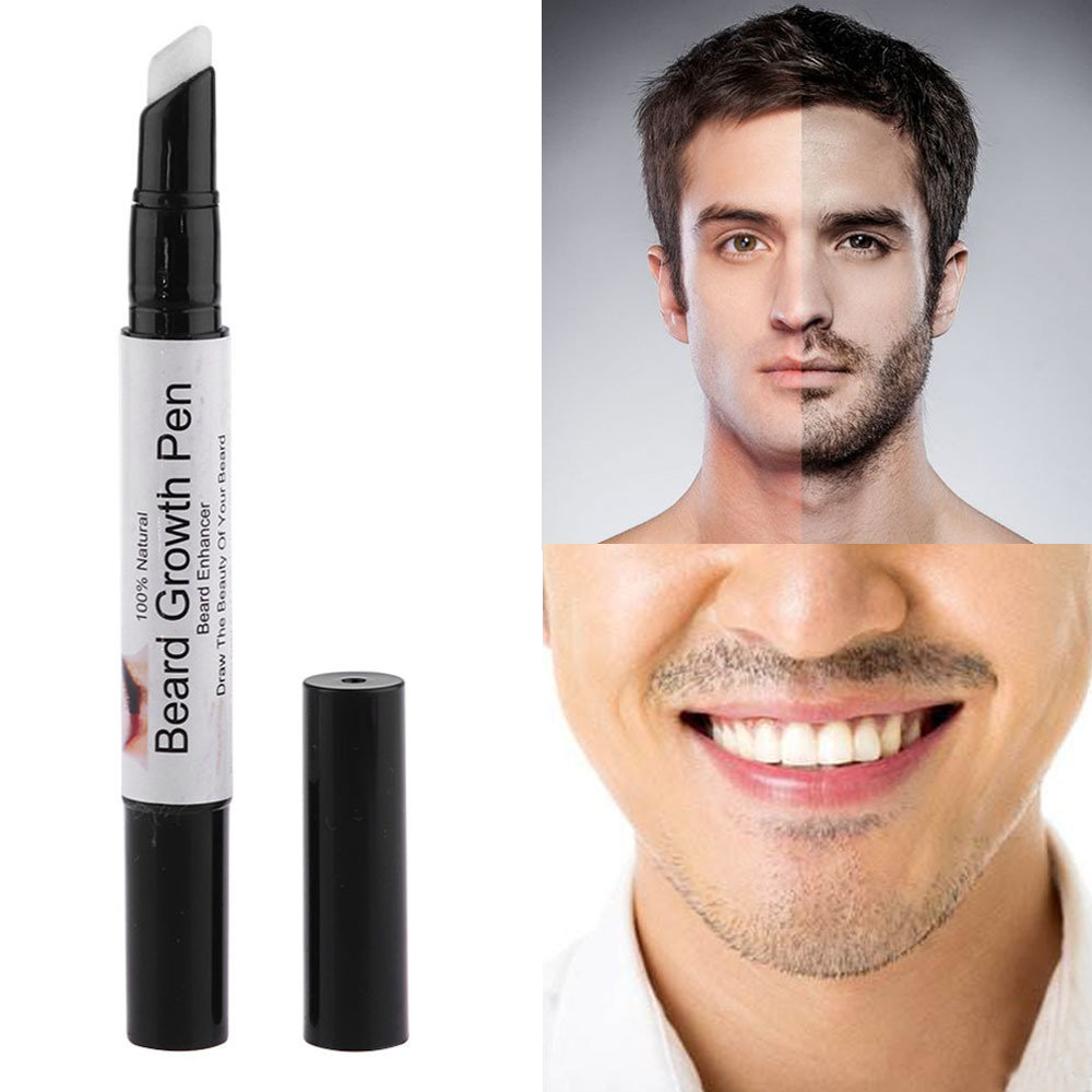 New Effective Face Beard Whiskers Moustache Growth Enhancer