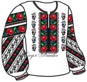 #Заготовка для вишивки жіночої сорочки (СЖ-71)