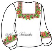 #Заготовка для вишивки жіночої сорочки (СЖ-66)
