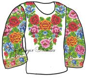 #Заготовка для вишивки жіночої сорочки (СЖ-61)
