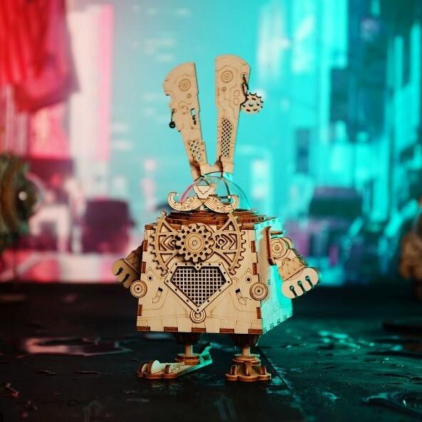 Стимпанк шкатулка Кролик Банни