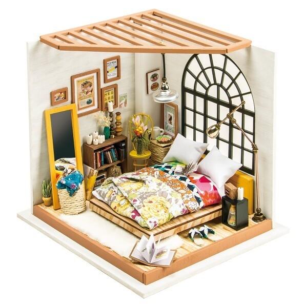 Сборная модель Robotime Rolife DG107 румбокс Спальня