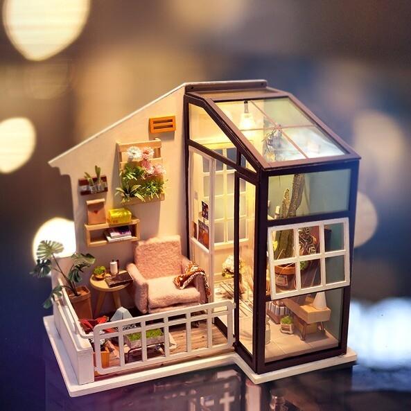 Сборная модель Rolife DGM05 румбокс Балкон мечты