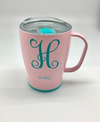 Blush 18 oz Mug